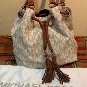Michael Kors Purse Drawstring Shoulder Bag